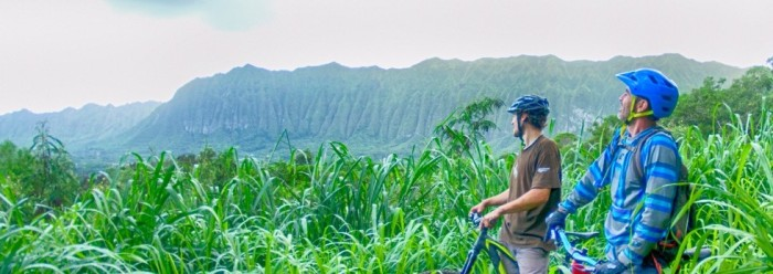 Surfe ou mountain bike noHavaí?