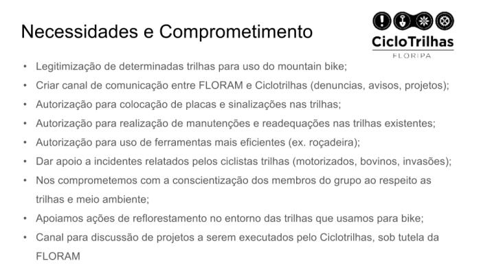 Ciclotrilhas - Apresentação FLORAM (11)