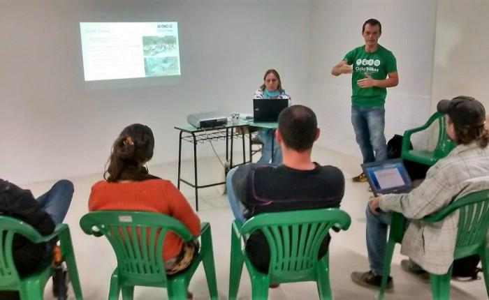 Parceria do CicloTrilhas com o Programa Roteiros doAmbiente